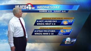 Videocast: Heat Wave ContinuesSubscribe to WYFF on YouTube now for more: http://bit.ly/1mUvbJXGet more Greenville news: http://www.wyff4.com/Like us: http://www.facebook.com/WYFF4Follow us: http://twitter.com/wyffnews4Google+: https://plus.google.com/+wyffnews4