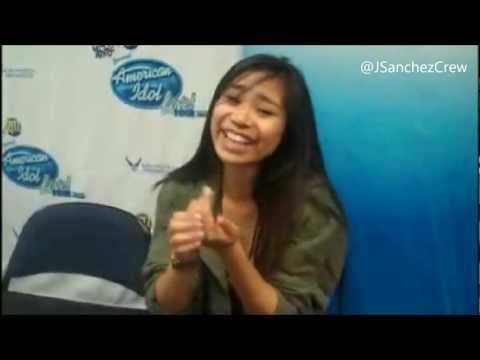 Jessica Sanchez interview in Georgia