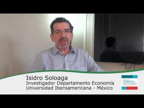 Isidro Soloaga – Cápsulas Cohesión Territorial para el Desarrollo