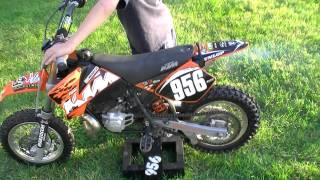 3. 2008 KTM SX 50 Mini For Sale - SOLD