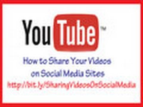 Danna Cruzan ~ Social Media Marketing Tip ~ How to Share Your Videos