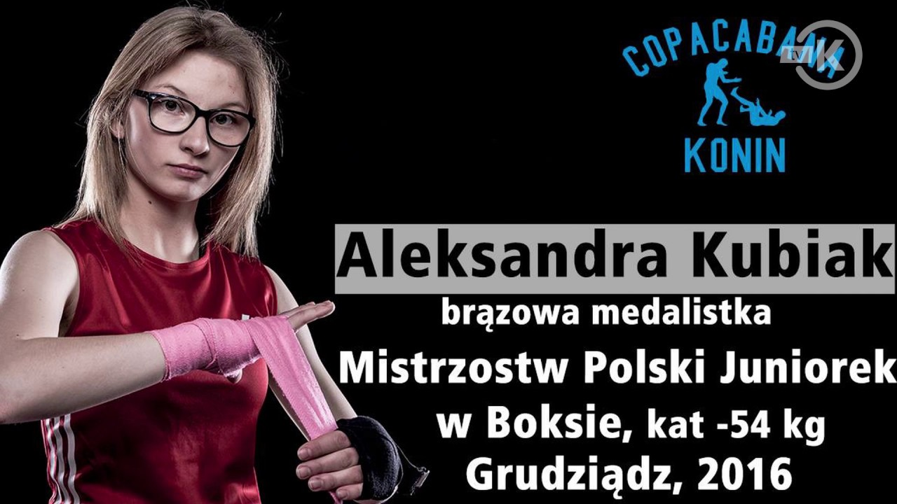 Aleksandra Kubiak z Koła utytułowaną zawodniczką bokserską
