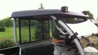 7. GR Manufacturing Mule 610 UTV Roof - Review