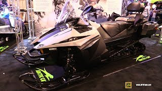 6. 2018 Arctic Cat Pantera 7000 XT Limited Sled - Walkaround - 2017 Toronto Snowmobile ATV Show