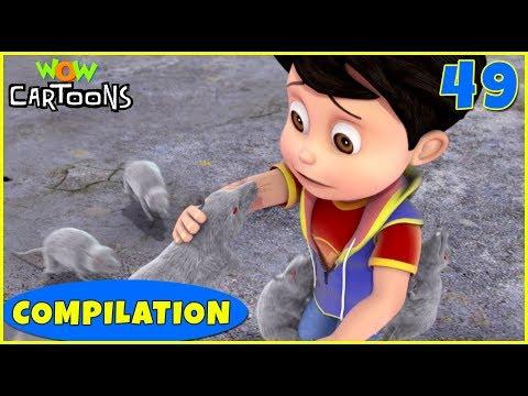 Vir the robot boy | Action Cartoon Video | New Compilation - 49 | Kids Cartoons | Wow Cartoons