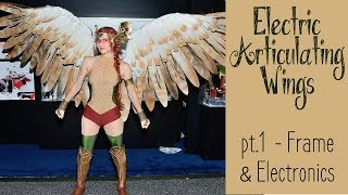 Video DIY Electronic Wings - pt.1 Frame & Electronics | Hawkgirl Cosplay Series MP3, 3GP, MP4, WEBM, AVI, FLV Februari 2019