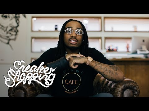 Quavo Goes Sneaker Shopping With Complex