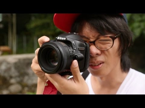 Nikon D3200 Hands-on Review