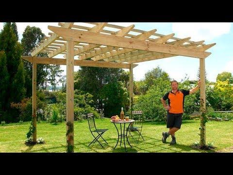 How to Build a Pergola | Mitre 10 Easy As DIY