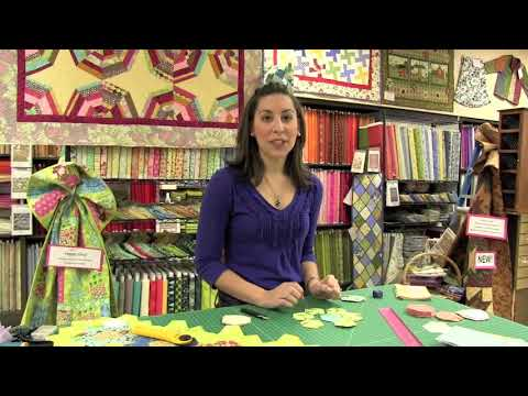Completely Quilted: How to English Paper Piece