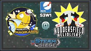 Pokemon TCG - MLPB S3W1 MANKATO MAGIKARP VS HUDDERSFIELD HELIOLISKS by Papa Blastoise