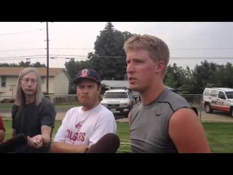Connor Halliday Interview 8/2/2014 video.
