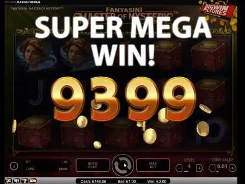 Fantasini - Master Of Mystery Slot Win!