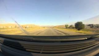 Road Trip Time Lapse 28 Hours  Austin Texas To Boise Idaho