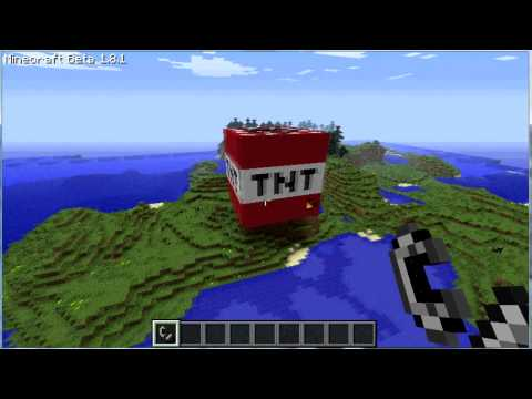 Minecraft biggest TNT explosion ever