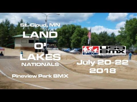 2018 USA BMX Land O' Lakes National Day 1 Main Events