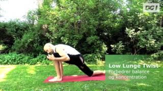 Yoga kan give dig ro, når du ellers er travl og presset. Brug otte minutter sammen med vores instruktør, og få mere overskud i...