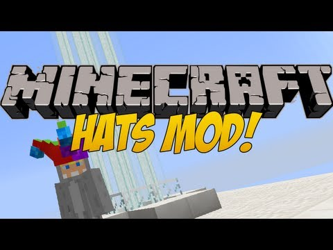 minecraft hats mod how to put on hats