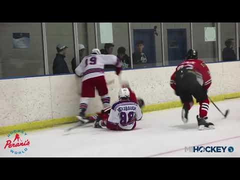 2018 MAHA Bantam A State Championship (Birmingham Rangers vs. Michigan Ice Hawks) (видео)