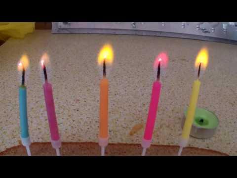 Как сделать свечи с цветными пламенем
