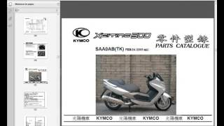 7. Kymco Xciting 250-500 - Workshop, Service, Repair Manual - Parts