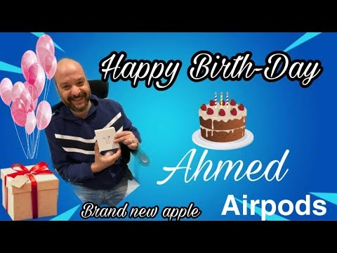 Birth Day gift to my Good Friend Ahmed | Apple Airpods
