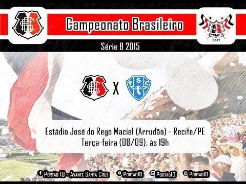 P10 - Santa Cruz 1 x 2 Paysandu 08/09/2015 - Portão 10 - Santa Cruz