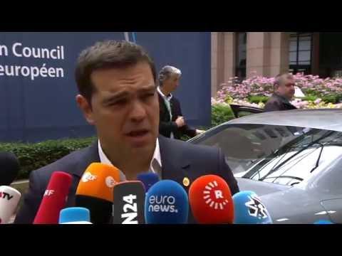 Δηλώσεις Αλ. Τσίπρα πριν τη Σύνοδο Κορυφής