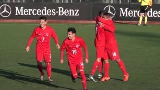 Norveç 1-2 Türkiye 2016 Mercedes-Benz Ege Kupası