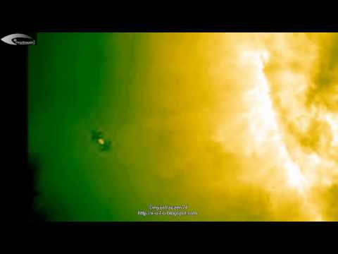 Aliens, UFOs and anomalies near the Sun – Review of NASA images of September 8, 2012.