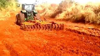 Video john deere 6145 j puxando grade de 28 discos de 30 polegadas MP3, 3GP, MP4, WEBM, AVI, FLV November 2017