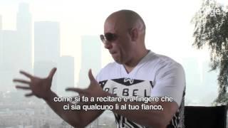"""An emotional Vin Diesel sings """"See you again"""" for Paul Walker"""