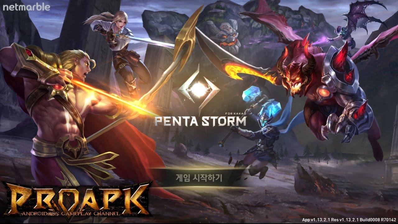 PENTA STORM - 펜타스톰 for Kakao