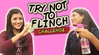 Video Try Not To Flinch Challenge Ft. Samreen Ali   Mahjabeen Ali MP3, 3GP, MP4, WEBM, AVI, FLV Agustus 2018