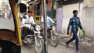Ahmednagar India  city photo : rickshaw ride through Ahmednagar