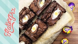 Creme Egg Brownies Recipe | Easter Special | Katie Pix by Katie Pix