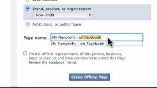 Absolutely the best way to create a non-profit Facebook Page full download video download mp3 download music download