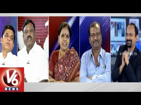 Good Morning Telangana  V6 special discussion on daily news  December 16th 2014