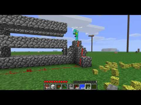 How to Make a Person-Launching Minecraft TNT Cannon