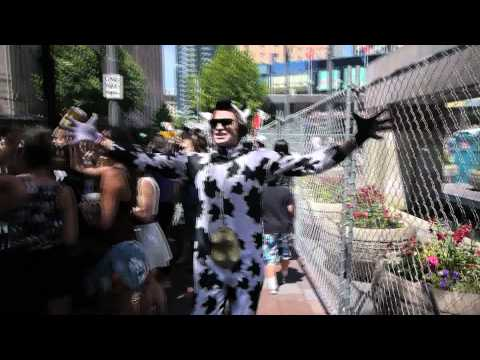 Willow Jon as the Cow at Seattle Pride 2011