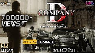 D Company Official Trailer Hindi | #RGV | Spark Productions | #DcompanyOfficialTrailer