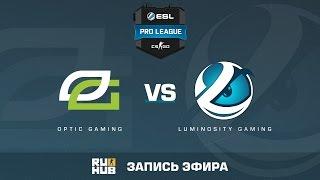 OpTic Gaming vs. Luminosity Gaming - ESL Pro League S5 - de_overpass [Flife]