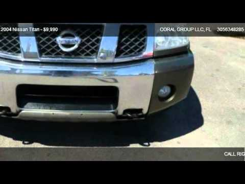 2004 Nissan Titan XE – for sale in MIAMI, FL 33142