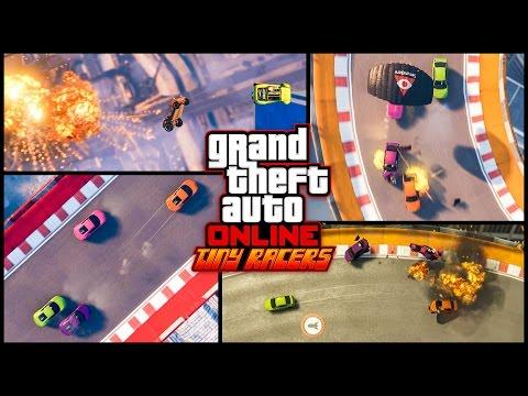 GTA Online: трейлер противоборства «Микрогонщики»