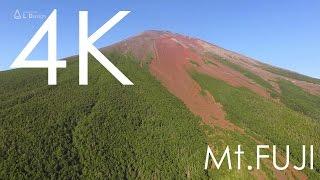 4K空撮 / 真夏の赤富士
