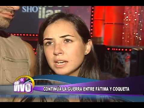 Coqueta sigue molestando a Fatima Torre. EN VIVO  - Thumbnail