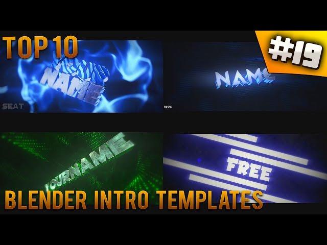 free intro templates - top 10 blender intro templates 19 free download mu