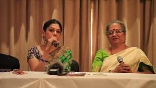 Press Meet for Vishranthi: Samadhina by Shobana Chandrakumar