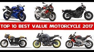 9. The Top 10 Best Value Motorcycle Models Of 2017 | Top 10 Best Motorcycle in 2017