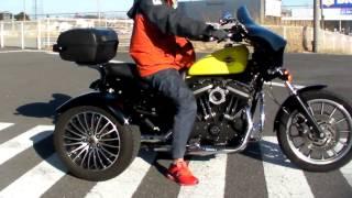 2. Harley Davidson XL883R i TRIKE SPORTSTER 3 wheelers 1701140173 s